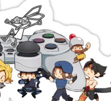 Playstation Heroes Sticker