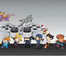 Playstation Heroes by SmaiART