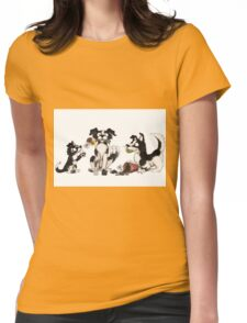 Borderline family  Womens Fitted T-Shirt