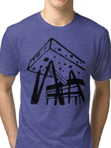 Ontario College of Art and Design University Building  Tri-blend T-Shirt