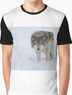 Gray Wolf Graphic T-Shirt