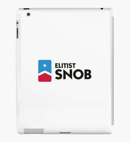 Elitist Snob iPad Case/Skin