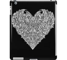 Valentines Heart Black iPad Case/Skin