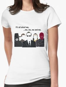 Movies - me, me, me, me and me Womens Fitted T-Shirt