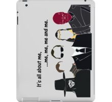 Movies - me, me, me, me and me iPad Case/Skin