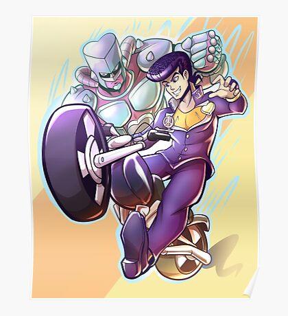 Josuke and Crazy Diamond Poster