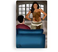 Date Night - Derek and Braeden Canvas Print