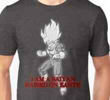 I Am A Saiyan Raised On Earth Unisex T-Shirt