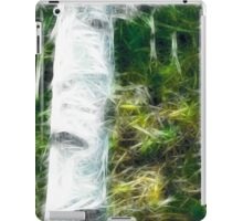 fractal of a fraction of forest iPad Case/Skin