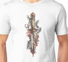 Knife, dagger, sword design Unisex T-Shirt