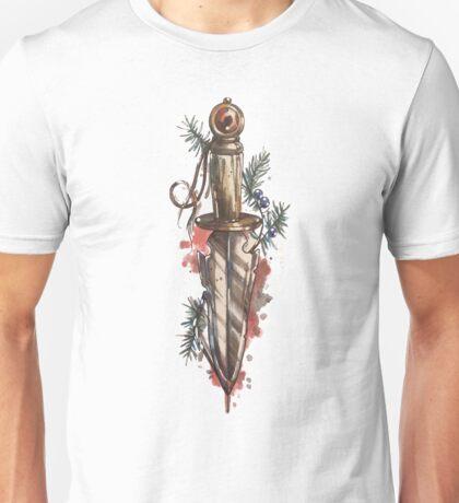 Knife, dagger, sword design Unisex T-Shirt