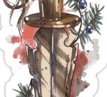 Knife, dagger, sword design Sticker