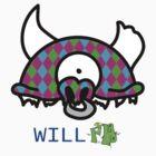 Argyle Record Head by WillFM