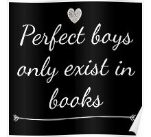 Perfect Boys Only Exist in Books Poster