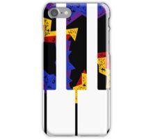 Retro Piano Keys iPhone Case/Skin