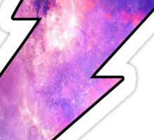 Lightning Bolt Galaxy Sticker