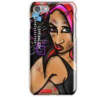 LOVEdaLISH Pinup Style Asskicker Portrait iPhone Case/Skin