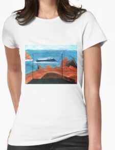 Ships Of Life Womens Fitted T-Shirt