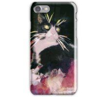 Tuxedo Cat Lover iPhone Case/Skin