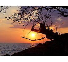 Sunset in Koh Chang Photographic Print