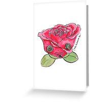 """Oro?"" Valentine's Rose Greeting Card"