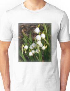 Snowflake (Leucojum Aestivum) Unisex T-Shirt