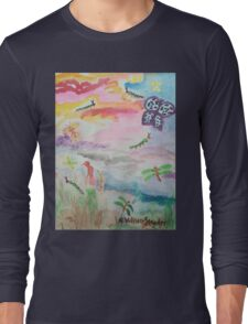 Caterpillar Sky Long Sleeve T-Shirt
