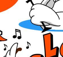 Loud Swans Sticker