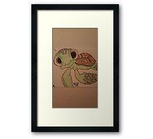 Turtles  Framed Print