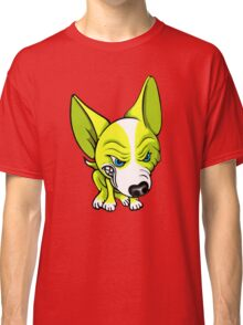 Angry Chihuahua White & Yellow Classic T-Shirt