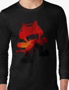 Polygon Fire Long Sleeve T-Shirt