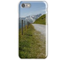 Mountains and Barbed Wire iPhone Case/Skin