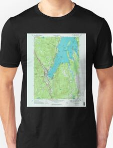 New York NY Lake George 130045 1966 24000 Unisex T-Shirt