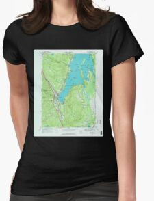 New York NY Lake George 130045 1966 24000 Womens Fitted T-Shirt
