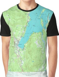 New York NY Lake George 130045 1966 24000 Graphic T-Shirt