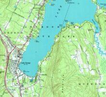 New York NY Lake George 130045 1966 24000 Sticker