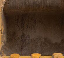 bucket excavator Sticker