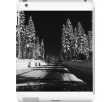 Road to Epic Snow iPad Case/Skin