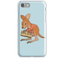 Joey makes worms iPhone Case/Skin