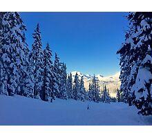 My Bachelor Ski Resort, Oregon Photographic Print