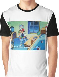 Ash Ketchum Graphic T-Shirt
