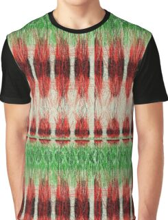 Red furry pattern Graphic T-Shirt