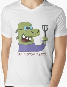 The Hash Slinging Slasher Mens V-Neck T-Shirt