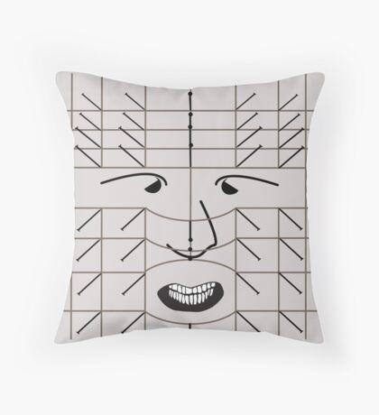 Pinhead - Hellraiser Throw Pillow