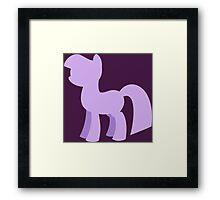 Go Pony! Framed Print