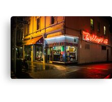 Pellegrinis Espresso Bar Canvas Print
