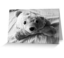 Weathered Bear Greeting Card