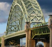 Bridge Under Troubled Skies  Sticker
