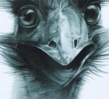 G'day. (Emu) Sticker