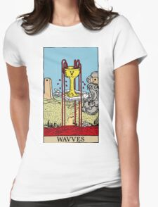 "Wavves- V ""Cup"" Womens Fitted T-Shirt"
